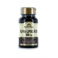 ALPHA-LIPOIC ACID 300 MG 60 CAPS WINDMILL