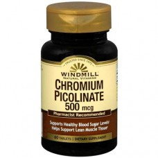 CHROMIUM PICOLINATE 500 MCG 60 CAPS WILDMILL