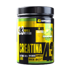 CREATINA 500 GR (100 SERV) 43 SUPPLEMENTS