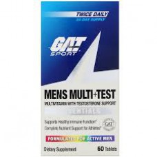 MENS MULTI+TEST 60 TABS GAT