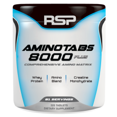 AMINO TABS 8000 PLUS 325 TABS RSP