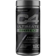 C4 ULTIMATE SHRED 120 CAPS CELLUCOR